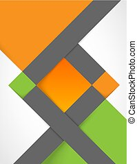 abstract vector background with squares