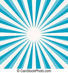Abstract Vector Blue Star Shaped Retro Background