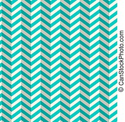 Abstract Vector Blue Toothed Seamless Retro Paper Zig Zag...