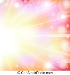 Abstract Vector Bright Background