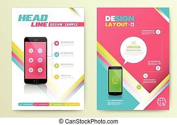 Abstract Vector Brochure Template.