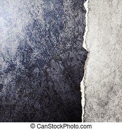 Abstract vector broken wall design