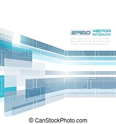 Abstract vector business background. Desing with place for...
