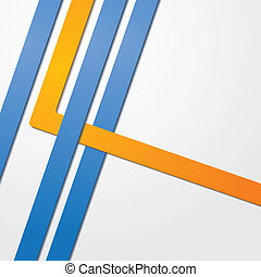 Abstract vector business corporate design