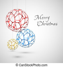 Abstract Vector christmas decorations
