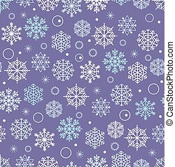 Abstract vector Christmas seamless background. Design vector elements. Winter season seamless pattern