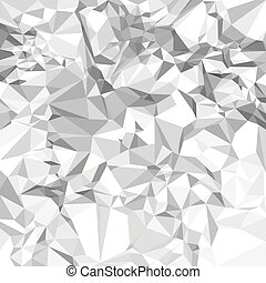 Abstract vector crumpled paper
