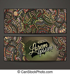 Abstract vector decorative ethnic ornamental background