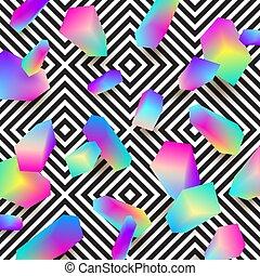 Abstract vector design.