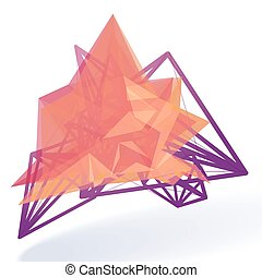 Abstract Vector Design Element