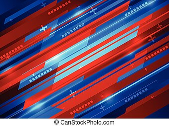abstract vector digital technology background design