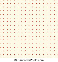Abstract Vector Dotted Retro Seamless Background