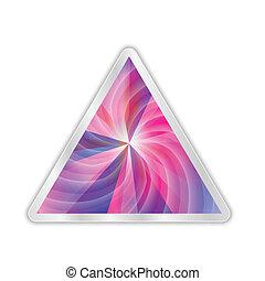 abstract, vector, driehoek