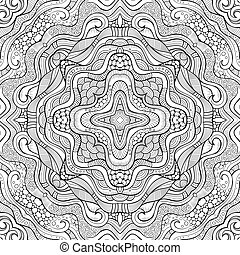 Abstract vector ethnic seamless pattern - Abstract vector ...
