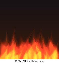 abstract vector fire background