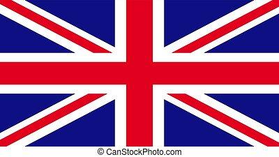Union Jack United Kingdom flag illustration