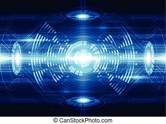 abstract vector future technology telecom background illustration