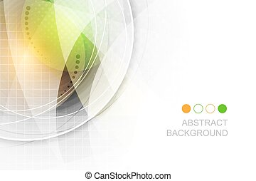 Abstract vector futuristic background with wavy pattern.