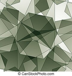 Abstract vector geometric 3D background.