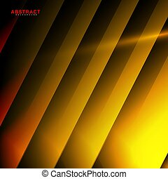 abstract vector geometric background. design orange and yellow color shape . New texture for your design.