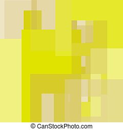 Abstract vector geometric background in yellow tones