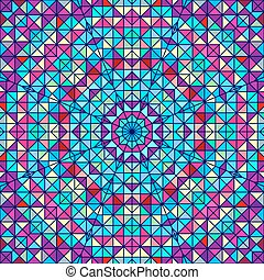 Abstract Vector Geometric Color Background.