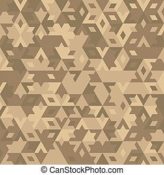 Abstract vector geometric desert seamless background