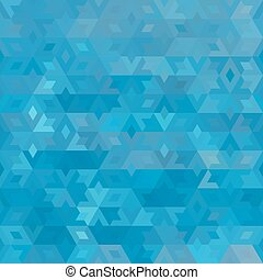 Abstract vector geometric ocean seamless background