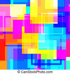 Abstract vector glossy square background pattern.