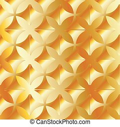 Abstract vector gold background