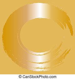 abstract, vector, goud, achtergrond