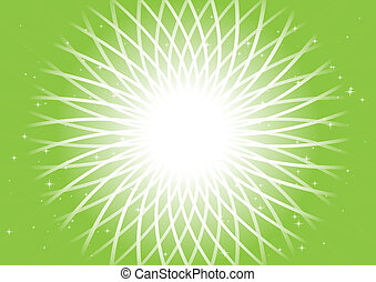 abstract, vector, groene achtergrond