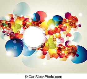 abstract, vector, illustratie
