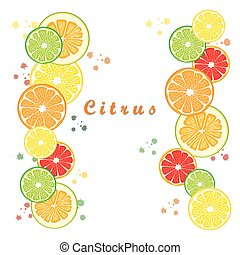 ripe citrus fruit