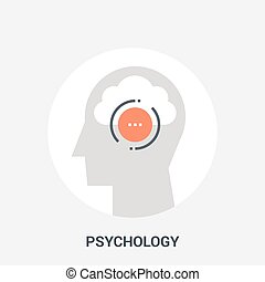 psychology icon concept