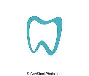 Dental logo - Abstract Vector illustration of teeth. Dental...