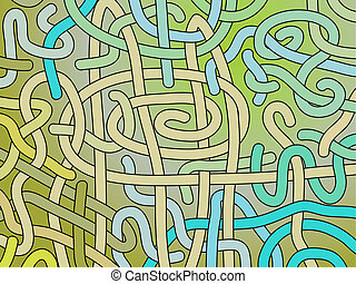 Abstract vector interlacing background