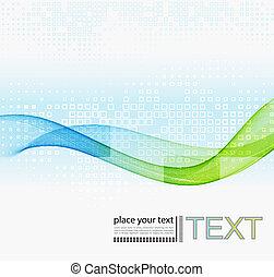 abstract, vector, kleurrijke, achtergrond