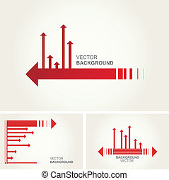 Abstract vector layout design. Vector illustration.