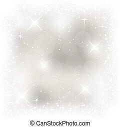 Abstract vector light Christmas card