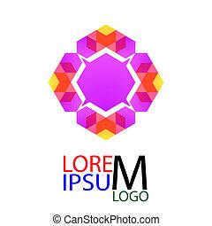 Abstract Vector Logo. Element Design Template