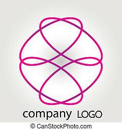 Abstract vector logo for companies