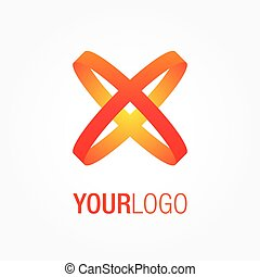 Abstract vector logo, for your company.