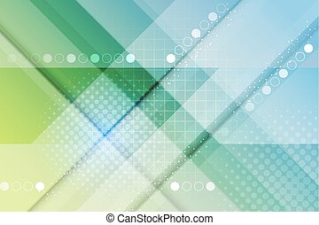 Abstract vector modern background.