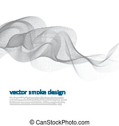 Abstract vector monochrome background