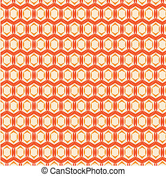 Abstract vector orange background