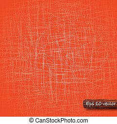 Abstract vector orange background.