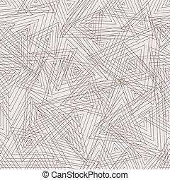 abstract, vector, pattern., geometrisch, seamless