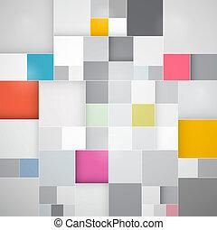abstract, vector, plein, achtergrond