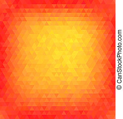Abstract vector polygon background.